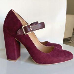 Mary Jane Block Heel with Strap